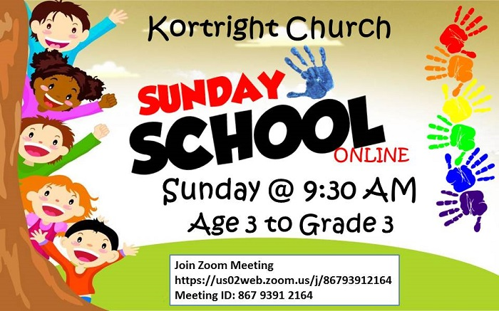 Sunday School online